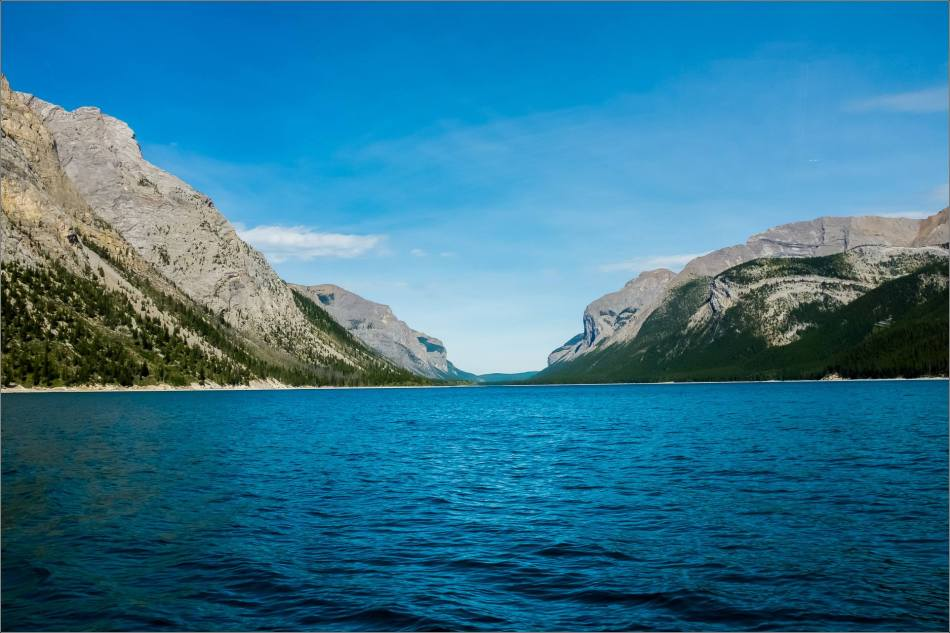 The east end of Lake Minnewanka - © Kian Martin-3555
