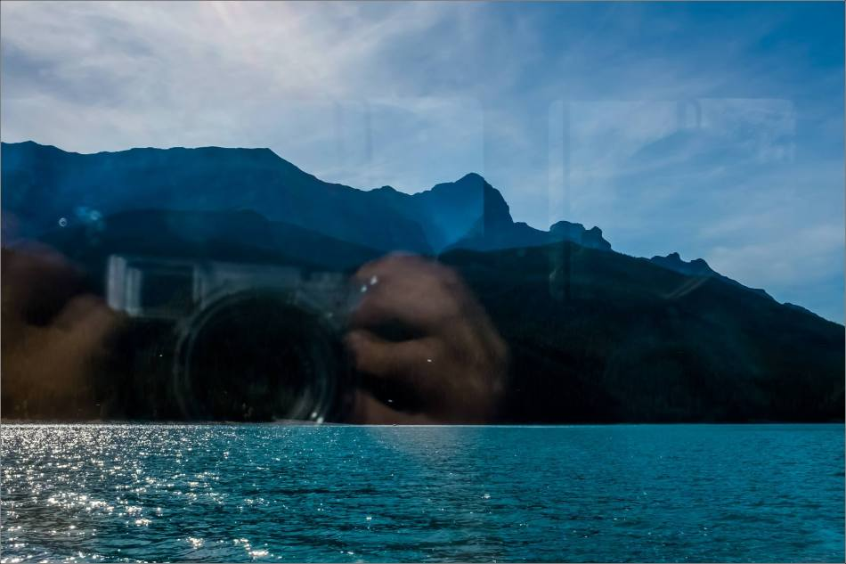 Photographing Lake Minnewanka - © Kian Martin-3558