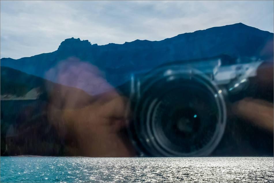 Photographing Minnewanka - © Kian Martin-3560