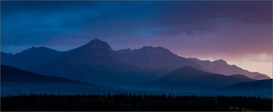 A stormy dawn in the Bow Valley - © Christopher Martin-2561