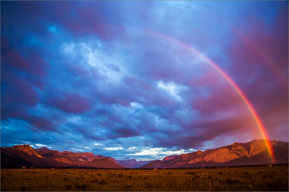 Rainbow sunrise in the Bow Valley - © Christopher Martin-2676