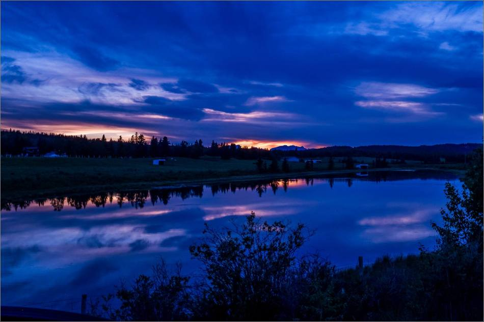 Sunset from the Sibbald Creek Trail - © Kian Martin-3641