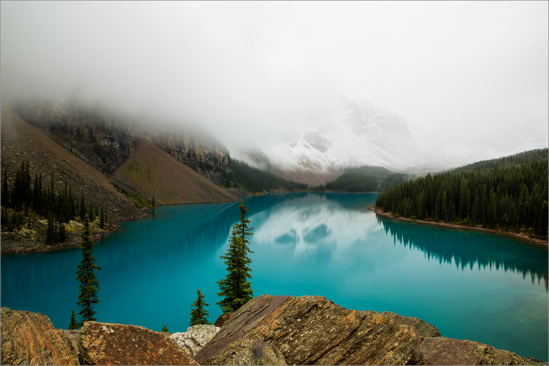 Summer Rocky Mountains Canada