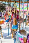 On the Merry-go-round at the Calgary Stampede Midway – © ChristopherMartin-2480