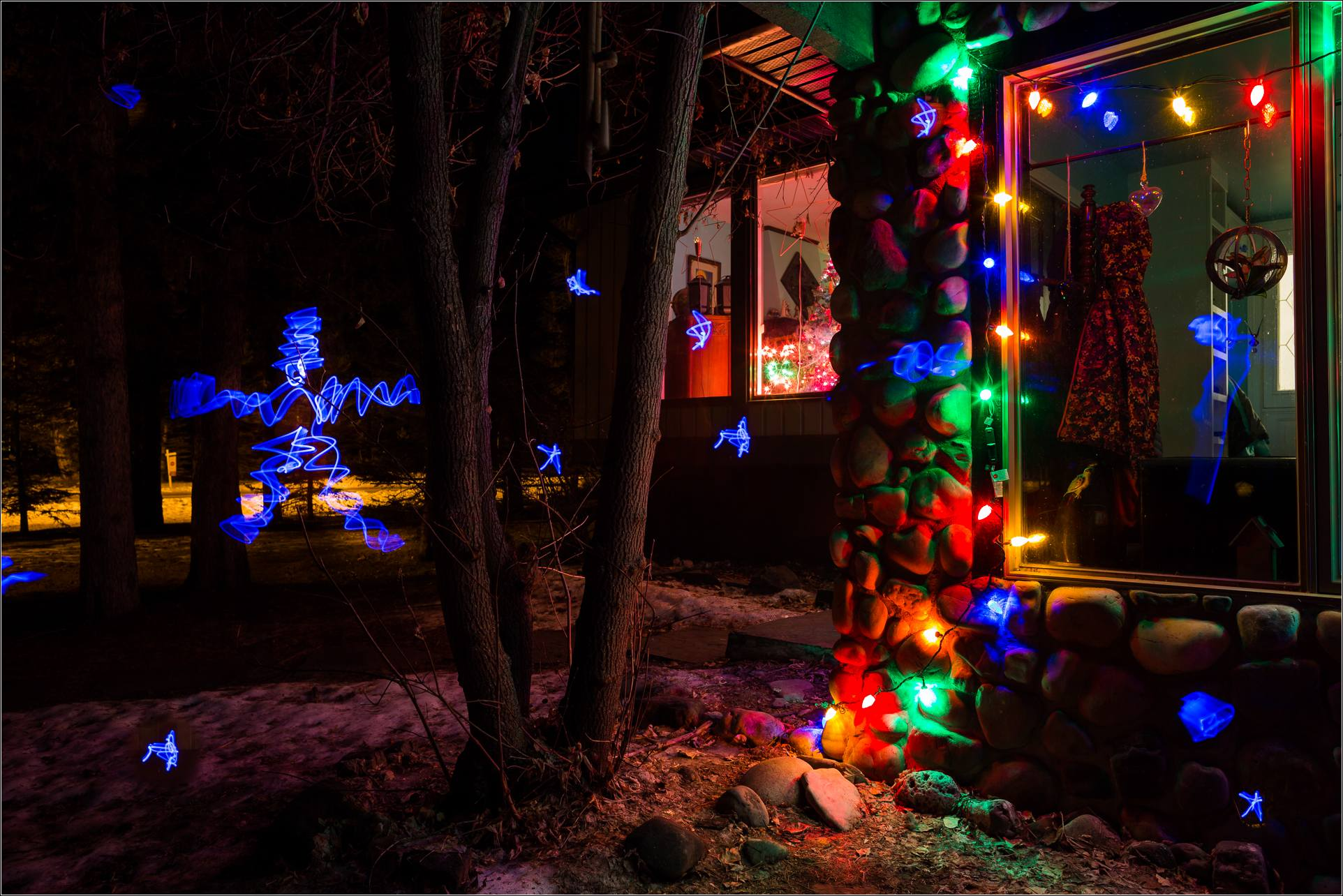 Holiday Lights In Abstract Slow Shutter >> Christmas Lights Christopher Martin Photography
